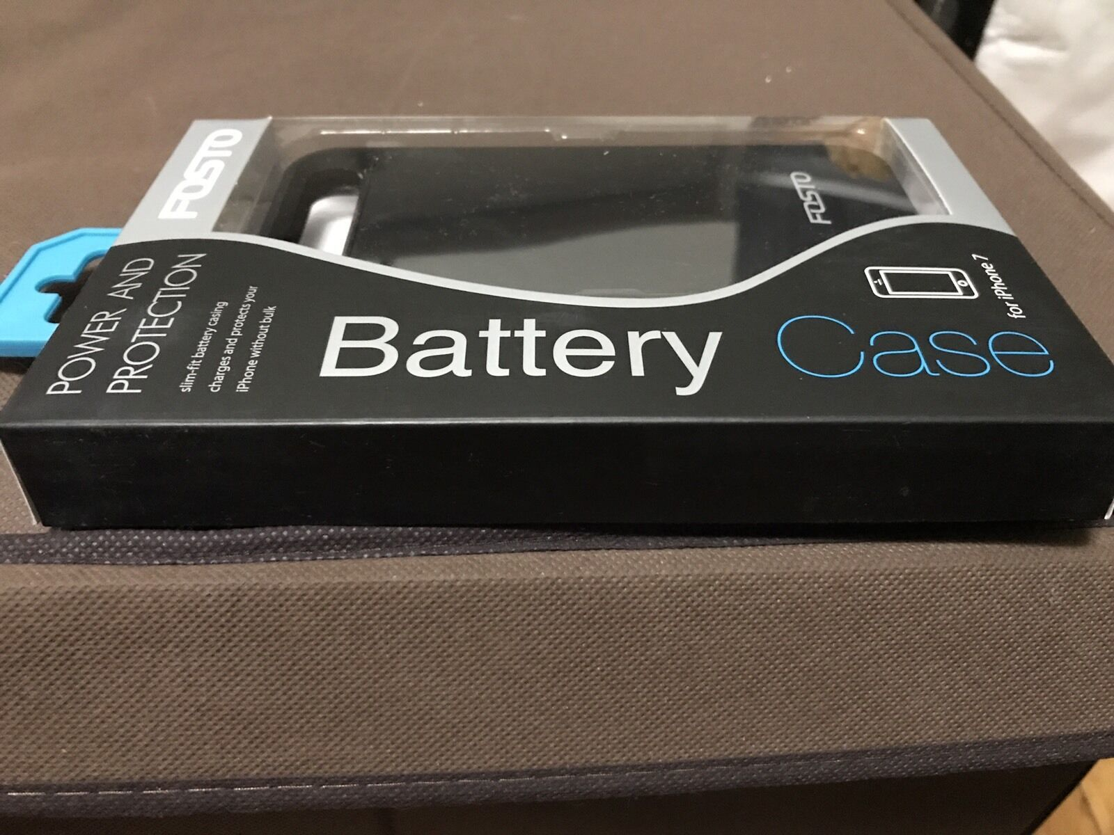 Iphone 7 Battery Case, FOSTO Ultra Slim Portable Charger Iphone 7 Charging Bank