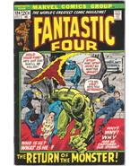 The Fantastic Four Comic Book #124 Marvel Comics 1972 FINE+ - $16.88