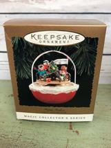 Hallmark Keepsake Ornament Forest Frolics Light & Motion 1994 - In Box! - $13.86