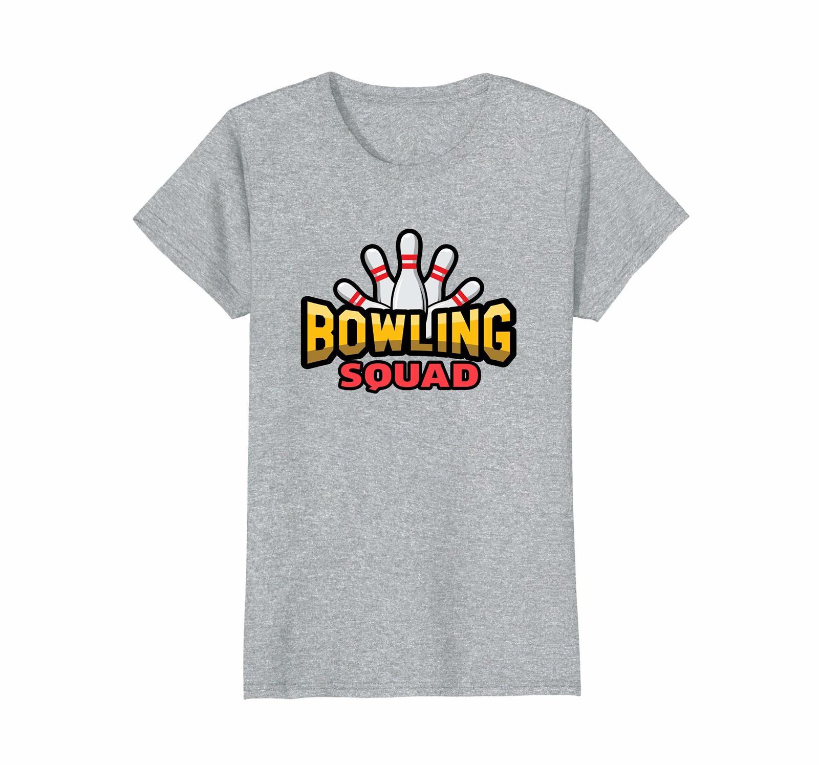 Funny Tee - Bowling Squad Shirt