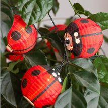 IKEA SOLVINDEN Ladybug LED String Lights Battery Operated Outdoor New image 5