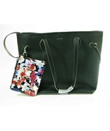LODIS BLISS LEATHER PURSE WITH WRISTLET,  BLACK, 100% LEATHER, NEW - $30.15
