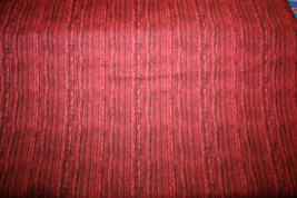 RED WOOD GRAIN FROM ELIZABETH;S STUDIOS -  100% COTTON FABRIC - $7.91