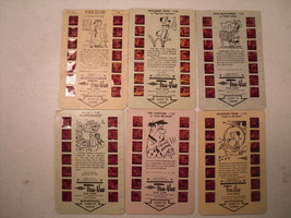 Hanna-Barbera True-Vue Film Cards Lot (6) Top Cat Flintstones Yogi Bear ... - $15.39