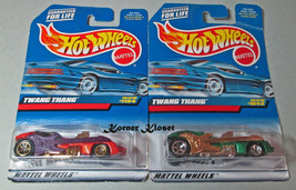 Lot of 2 Mattel Hot Wheels Cars - a Twosome Twang Thang - NIP - $14.46