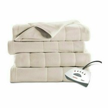 Sunbeam Heated Fleece Electric Blanket, Twin Size, 10 Hour Shut Off With... - $109.30 CAD+