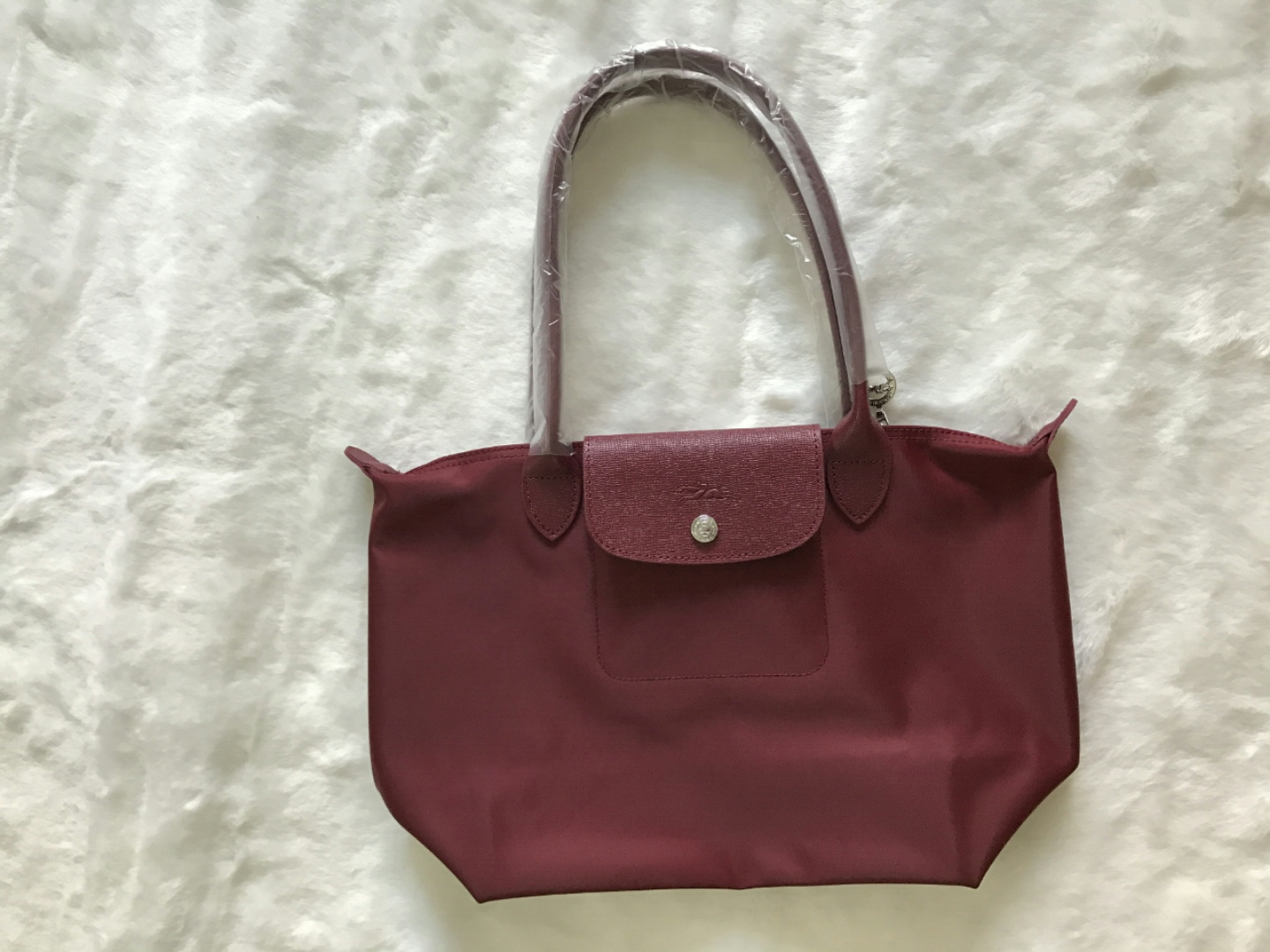 Longchamp Le Pliage Neo Small Tote Bag Wine and 27 similar items.  1549895384514 21e95572bc425