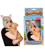 Person & Cat Kitty Cuddle Costume Set - Role Reversal! - $9.29