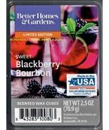 Sweet Blackberry Bourbon Better Homes and Gardens Scented Wax Cubes Tart... - $3.75
