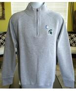 Ouray Sportswear NCAA Michigan State Spartan 1/4 Zip Men's Sz M Long Sle... - $38.61
