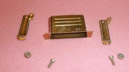 NEW 3PCS ITT DB24659 D Sub Backshell, DB, 180°, Steel Body ,25C DEEP STR... - $14.37