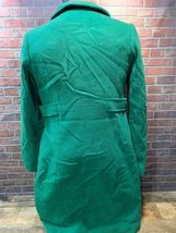 TOMMY HILFIGER Green Women's Winter Coat Size 4 Style H9457 Long Trench Full image 5