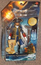 2011 Pirates Of The Caribbean Captain Barbossa Action Figure New In The ... - $34.99