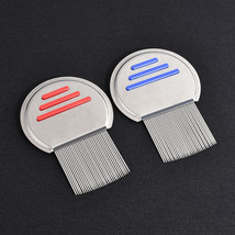 New Stainless Steel Hair Lice Comb Nit Free Terminator Fine Egg Dust Rem... - $7.30
