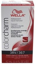 Wella Color Charm Liquid Haircolor 367/3Rv Black Cherry, 1.4 oz - $5.69