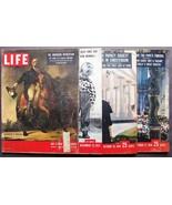 VINTAGE LIFE MAGAZINES (4) July 3, 1950~Dec 22, 1952~Oct 20 & Oct 27, 1958 - $36.47