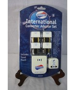 American Tourister International Converter Adapter Set Includes Travel P... - $27.85