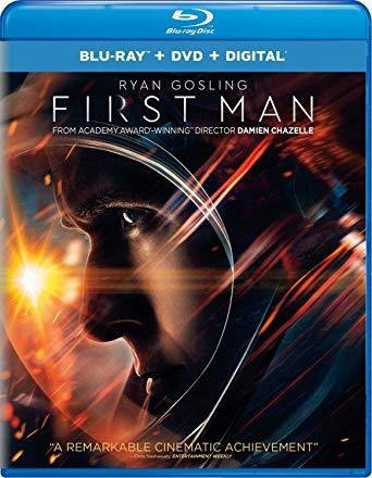 First Man [Blu-ray+DVD+Digital, 2019]