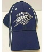 OKC Thunder Baseball Hat Cap Adidas Fitted Size Small Medium Mens NBA - $16.39