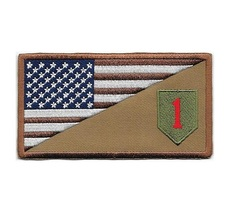 1st Infantry Division Afghanistan & Iraq United States Army Desert Patch  2.25 x - $9.99