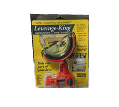"LEVERAGE-KING ARM SUPPORT & WRIST SAVER FISHING ROD SUPPORT ""BEND THE RO... - $19.59"