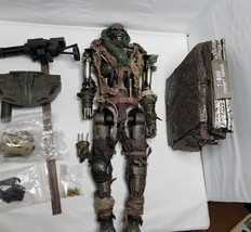 Hot Toys MMS105 Terminator Salvation T-600 (Concept Ver) USED,Missing ba... - $284.19