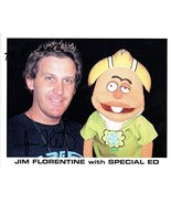 "Jim Florentine Signed Autographed ""Crank Yankers"" Glossy 8x10 Photo 'To Richard' - €25,52 EUR"