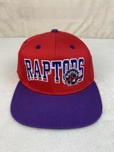 Adidas Toronto Raptors Hardwood Classics Vintage Snapback Adjustable Hat O/S  - $19.79