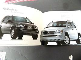 2003 mercedes ml class owners sales brochure new original ml350 - $13.85
