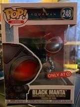 New Funko POP Black Manta Aquaman 248  - $6.00