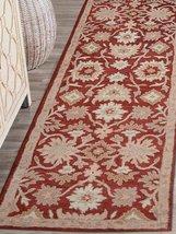 Rugsotic Carpets Hand Tufted Woolen Vintage 2' 6'' x 8' Runner Rug Red K... - $66.00