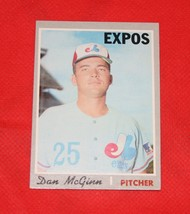 1970 Topps Baseball Card #364 Dan McGinn - $0.98