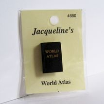 DOLLHOUSE Book World Atlas Jacqueline's 4680 Miniature - $2.61