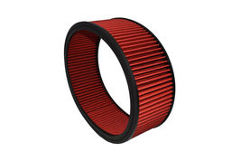 """HIGH FLOW WASHABLE & REUSABLE ROUND AIR FILTER ELEMENT REPLACEMENT 14"""" X 5"""" RED image 5"""
