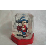 Disney Collection Bullyland Mickey Mouse In Paris Snow Globe 4 1/2 Inche... - $49.99