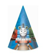 Thomas the Tank Cone Hats Party Favors Birthday Supplies 8 Per Package New - $6.88
