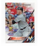 2016 Topps Opening Day  Future Stars #OD-181 Justin Bour All Star Rookie - $1.75