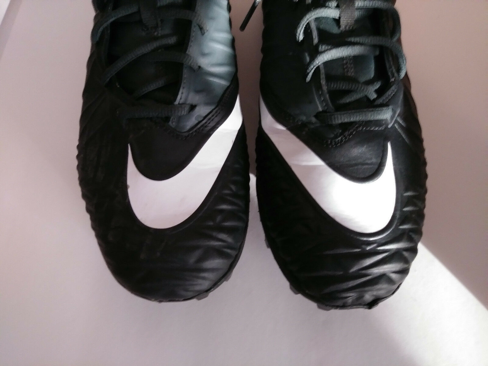 5b79991b627 Football Cleats Nike Force Savage Varsity Size 14 Black 880140-010 Men s EUC