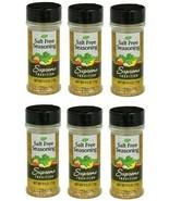 ( LOT 6 ) Supreme Tradition Salt-Free Seasoning Blend, 2.5 oz Ea Bottle ... - $23.73