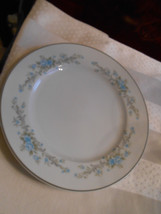 "1 Royal Court Fine China of Japan Blue Fantasy Salad Luncheon Plate 7 3/4"" - $8.82"