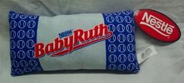"Nestle Babyruth Baby Ruth Candy Bar 12"" Pillow Plush Stuffed Animal Toy New - $18.32"