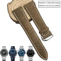 19 20 21 22 Rubber Silicone Watch Strap Folding Buckle Watchband For Ome... - $69.77 CAD