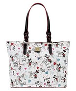 Disney Dooney And Bourke Mickey & Minnie Sweethearts Love Je t'aime Larg... - $692.99