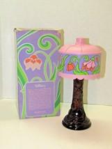 Vintage Avon Tiffany Lamp Decanter Sonnet Cologne 5Fl Oz In Box - $20.79