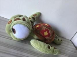 2013 Plush Squirt Turtle Disney Store with Patch Finding Nemo HTF Rare E... - $33.66