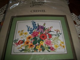 Something Special Crewel Kit 40161~Floral Spray - $30.00