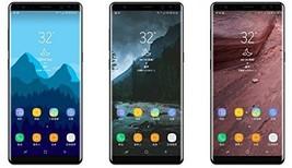 "SAMSUNG Galaxy Note8 64GB gray SM-N950 6.3"" Unlocked Phone Smart Phone"