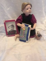 """Amish Blessings """"Ruth"""" Doll by Julie Good Kruger  - Edwin Knowles Collec... - $29.02"""