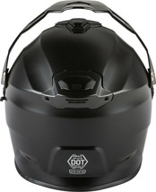 New Adult XS Gmax AT-21S Matte Black Cold/ Snow Helmet w/Electric Shield DOT/ECE image 2