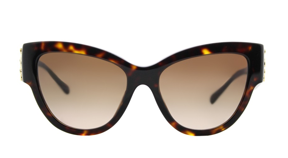 NEW VERSACE Rock Icons Medusa Sunglasses VE4322 108/13 55 Tortoise Gold Brown